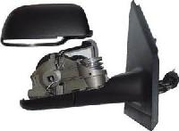 VW Polo - 9N - [02-05] Complete Cable Adjust Mirror Unit - Black Paintable